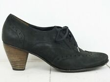 PAUL GREEN 💠 Damen Pumps Gr. DE 39 UK 6 Schwarz Leder Schuhe