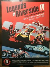 Poster - Legends of Riverside IV: Film Festival and Racing Gala (Bobby Unser)