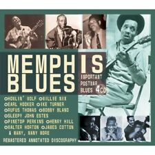 MEMPHIS BLUES 4 CD BOX-SET NEW+ IKE TURNER/RAYMOND HILL/JOHNNY ACE/EARL FOREST