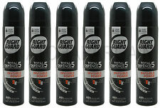 6 x RIGHT GUARD INVISIBLE POWER MEN 48hr PROTECTION ANTI-PERSPIRANT SPRAY 250ml