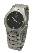 Mens Vintage ESQ Esquire by Movado 13300067 Diamond Dial Swiss Quartz Watch