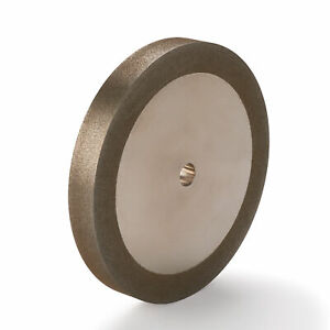 """WoodRiver 180-Grit CBN Grinding Wheel 6""""x 3/4"""" for Grinders with a 1/2"""" Arbor"""