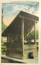 Vintage Antique Post Card, Parkersburg Wv, Old Blennerhassett Well