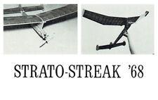 "Model Airplane Plans (FF): Strato-Streak 68 1/2A 44"" 274s.i. 1941 design update"
