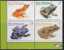 REP091 - REPTILES AMPHIBIANS PHILIPPINES 2011 FROGS  BLOCK MNH