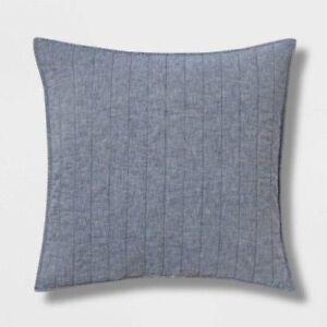 Threshold Euro Chambray Linen Blend Pillow Sham