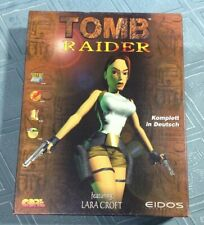 TOMB RAIDER 1 (PC) AUFLAGE 1997 IN BIG BOX (CD-ROM, EIDOS,DEUTSCHE VERSION OVP)
