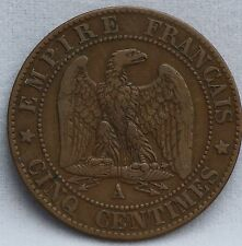 Frankrijk - France - cinq 5 centimes 1861 A Paris. Napoléon III