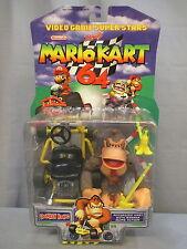 """2000 Toy Biz Mario Kart 64 """"DONKEY KONG"""" Sealed Nintendo Video Game Superstars"""