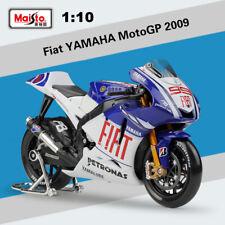 Maisto 1:10 Motorcycle Model 2009 MotoGP YAMAHA Fiat #99 JORGE LORENZO