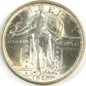 1917  Type 1 Standing Liberty 25¢ Silver Quarter *PRICED TO SELL QUICK* MS+++++
