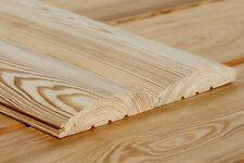 Blockhausprofile 28x140mm Sibirische Lärche Profilholz Holzprofile Blockhaus