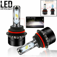 2pcs 9007 HB5 LED Headlight Conversion 12000LM Kit HI-LOW Beam Bulbs 6000K