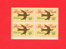 SCOTT # 1552 Christmas Issue United States U.S. Stamps MNH - Block of 4