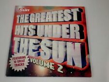 THE GREATEST HITS UNDER THE SUN  VOLUME 2 PROMOTIONAL CD THE SUN NEWSPAPER.