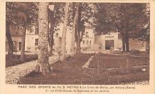 CPA 92 PARC DES SPORTS DE L´U.S.METRO A LA CROIX DE BERNY PAR ANTONY LE CLUB HOU