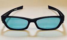 Happyeye Tinted glasses visual stress dyslexia overlays Aqua teen adult coloured