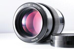 【DHL】【Near MINT】Nikon NIKKOR Non-Ai 105mm F/2.5 Telephoto Lens from JAPAN