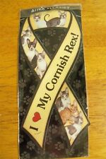 "Auto Magnet ""I Love My Cornish Rex!"" New In Package"