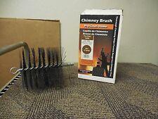 "PRO-CLEAN HOME SINGLE SPIRAL DOUBLE STEM CHIMNEY BRUSH 36406 1/4""NPT 6"" DIAMETER"