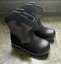 Toddler Boys Black Cowboys Boot Size 7 Cat And Jack Hunter