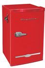 New Red Retro 3.2 Cu. Ft Mini Fridge Compact Refrigerators Small Freezer Office  photo