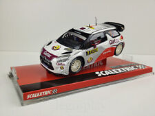"Slot car Scalextric A10120S300 Citroen DS3 WRC ""Qatar"" N.Attiyah /G.Bernacchini"