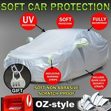 Aluminum Cars Cover 8 Layer Rain Dust Water UV Resistant For Toyota Aurion Camry