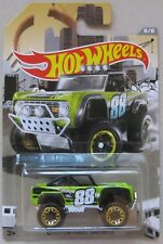Hot Wheels 2016 RAD Truck series CUSTOM FORD BRONCO 1st generation 1966 - 1977