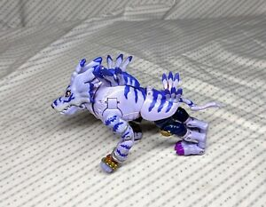 Bandai 1999 Digimon Digivolving Garurumon Weregarurumon Figure Incomplete.