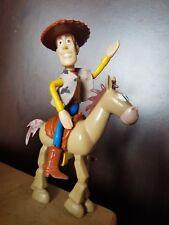 WOODY & BULLSEYE Toy Story 2 McDonalds Figures 2000 Disney