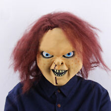 Chucky Childs Play Mask Scary Horror Halloween Fancy Dress Costume Cosplay Party