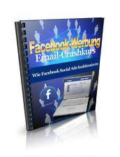Facebook-Werbung -Wie Facebook Social Ads funktionieren - Crash-Kurs -PLR-Lizenz