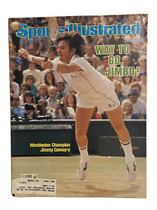 Sports Illustrated July 12 1982 Jimmy Connors Tennis Wimbledon Bagged/Boarded