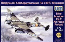 Unimodel 1/72 Petlyakov Pe-2 Finnish # 102