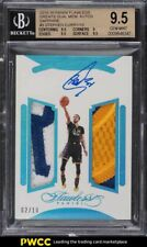 2015 Panini Flawless Greats Sapphire Stephen Curry PATCH AUTO /10 BGS 9.5 GEM MT