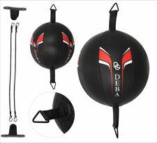 Deba® Punchingball aus Rindsleder Cowhide Doppelendball Speedball Boxbirne DE