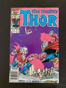 THOR #372 MARVEL COMICS 1986 VF NEWSSTAND EDITION