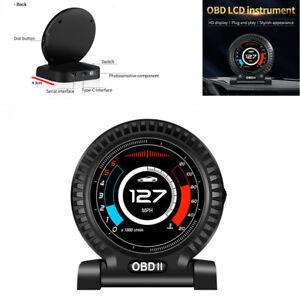 Universal Car HUD Head Up Display Digital OBD Speedometer OBDII Table Display