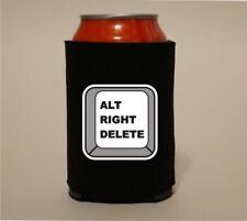 Alt Right Delete Anti Fascism No Nazi Koozie Coozie Beer Can Holder Cooler