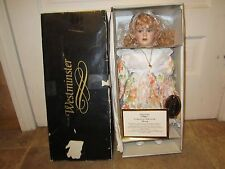 """Vintage Porcelain Westminster Doll """"Stacey"""" New! With COA & Original Box"""