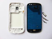 WHITE MIDDLE FRAME CHASSIS COVER FULL HOUSING SAMSUNG GALAXY S3 MINI i8190 +TOOL