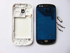 WHITE Middle Frame Telaio Copertura Alloggiamento Completo Samsung Galaxy S3 Mini i8190 + Strumento