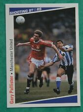 MERLIN SHOOTING STARES 1991-92  GARY PALLISTER  -  MANCHESTER UNITED   No 161