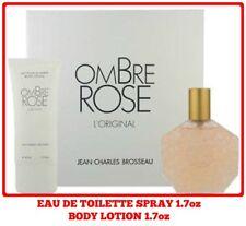 Ombre Rose L'original Jean Charles Brosseau 2pc Set 1.7oz EDT+1.7oz B lotion