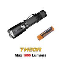 Fenix TK20R Cree XP-L HI V3 LED Rechargeable Tactical Flashlight Torch+Battery