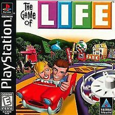 Game of Life (Sony PlayStation 1, 1998) Complete w/ Manual Excellent Disc 2Y