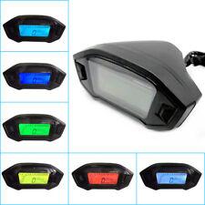 LCD Digital Odometer Speedometer Tachometer Speed Meter Motorcycle 2-4 Cylinders