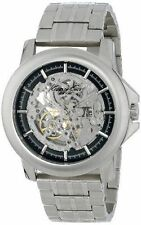 Kenneth Cole KC9280  Stainless Steel Skeleton Dial Automatic Men's Watch  $195