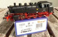 Roco 73020 Dampflokomotive BR 86 1591-6 der DR Epoche 4 mit Plux 22 DSS,neu,OVP
